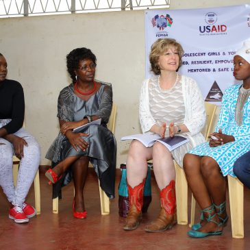 PEPFAR/DREAMS Project Helps Prevent Vulnerable Young Women from HIV Infections