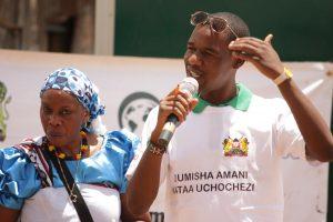 Dan,a beneficiary of Global Communities' USAID/Kenya Tuna Uwezo Program