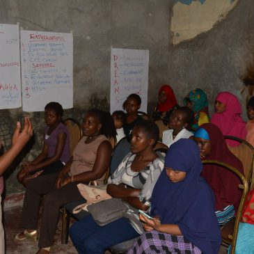 Building Adolescent Girls and Young Women's Social Assets through Safe Spaces